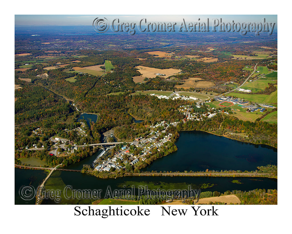 Aerial Photo of Schaghticoke, New York
