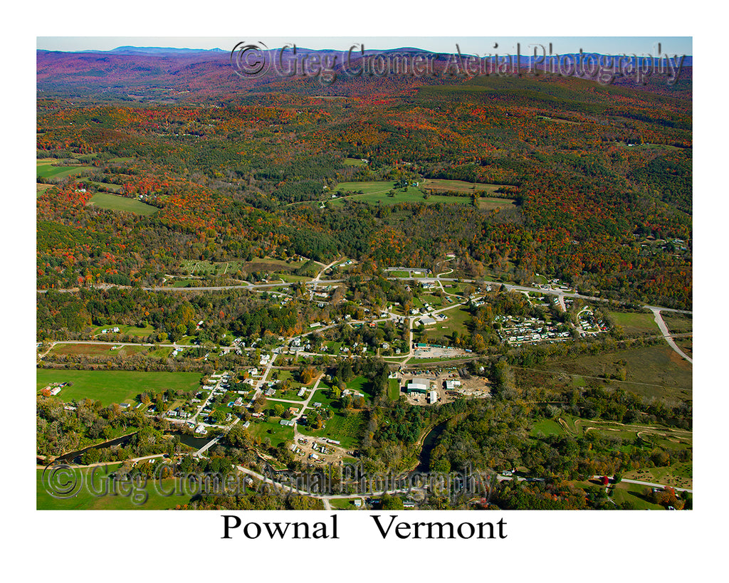Aerial Photo of Pownal, Vermont