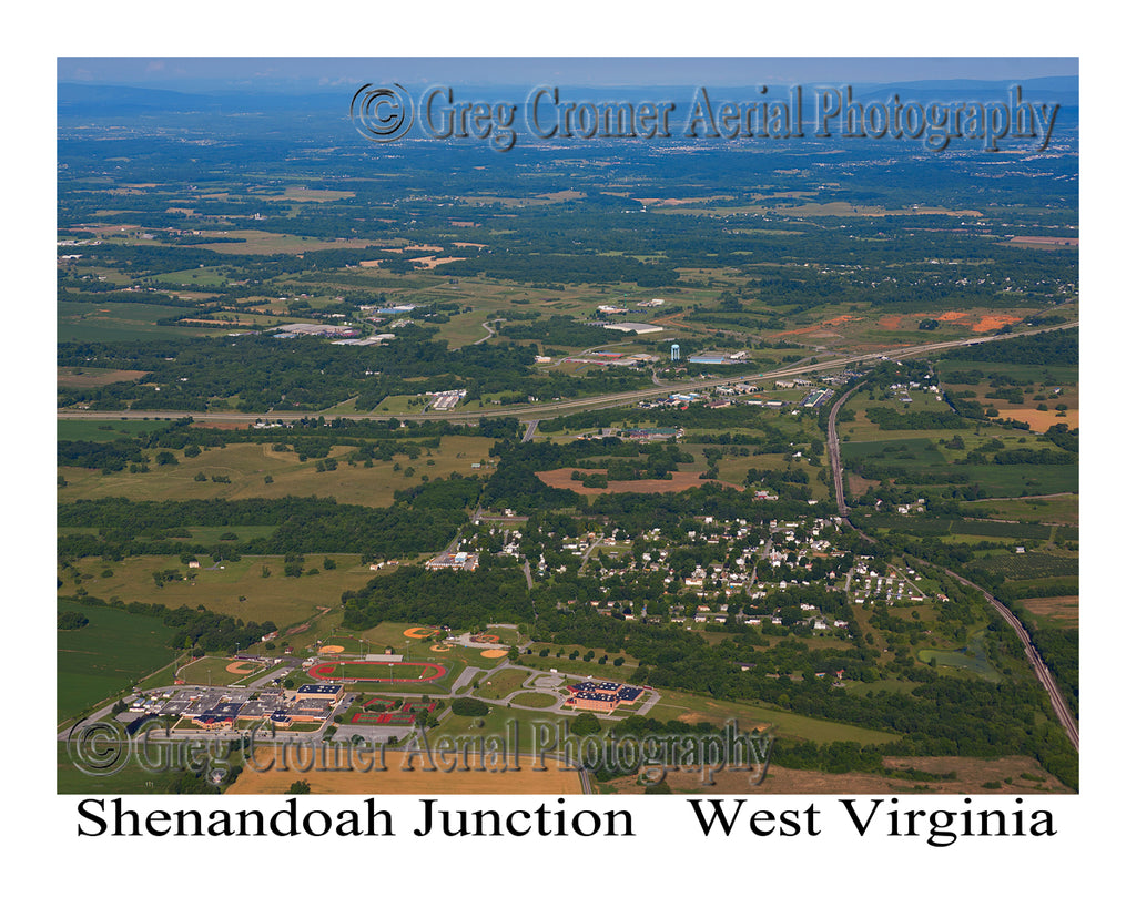 Aerial Photo of Shenandoah Junction, West Virginia