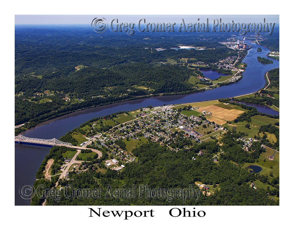 Aerial Photo of Newport, Ohio