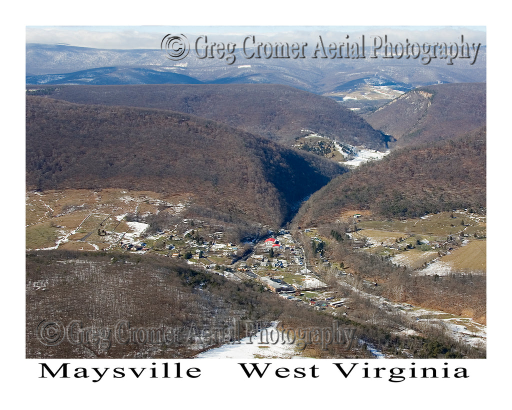 Aerial Photo of Maysville, West Virginia