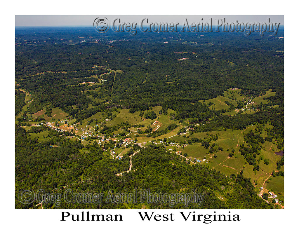 Aerial Photo of Pullman, West Virginia