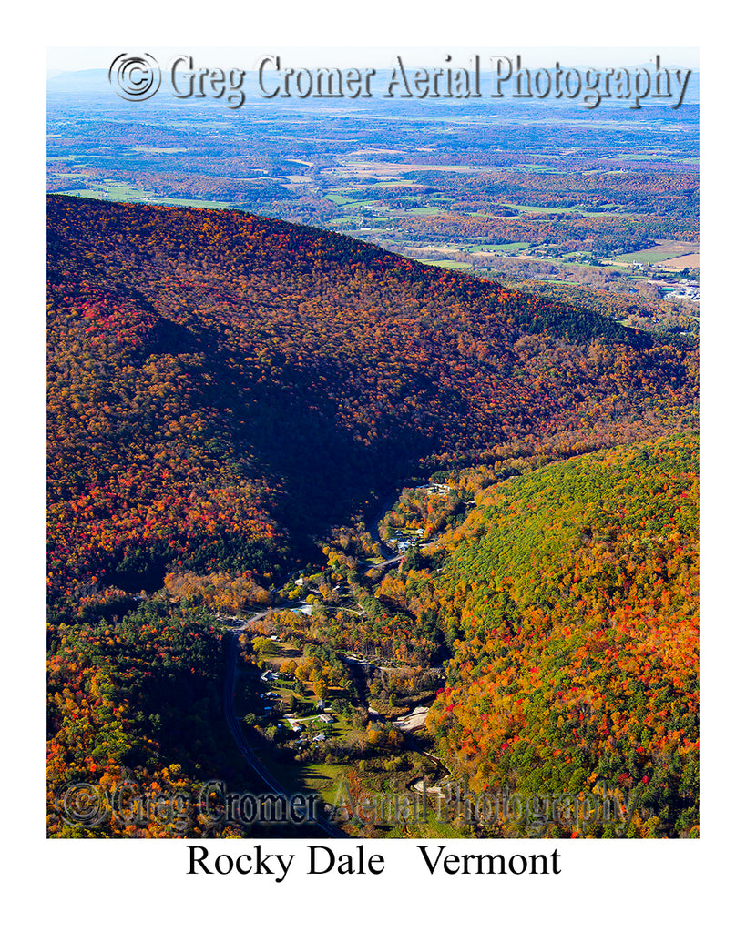 Aerial Photo of Rocky Dale, Vermont