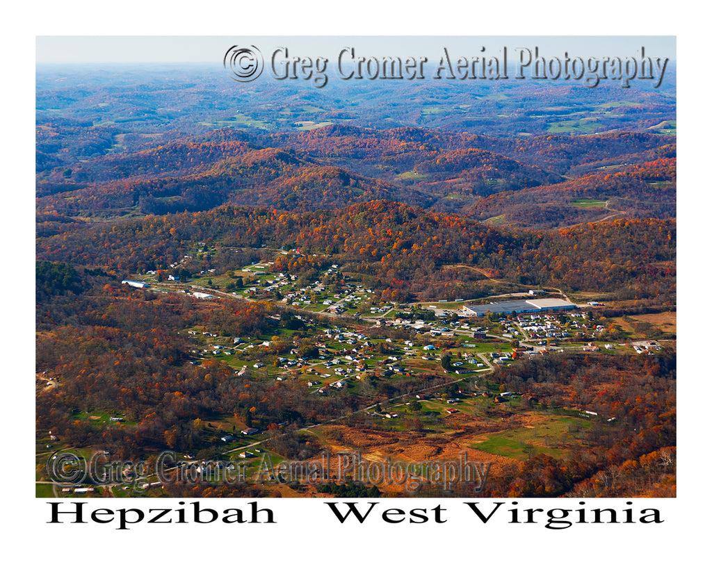 Aerial Photo of Hepzibah, West Virginia