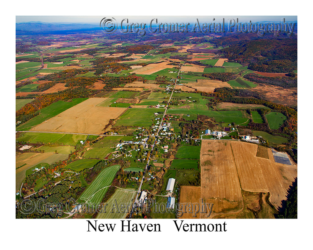 Aerial Photo of New Haven, Vermont