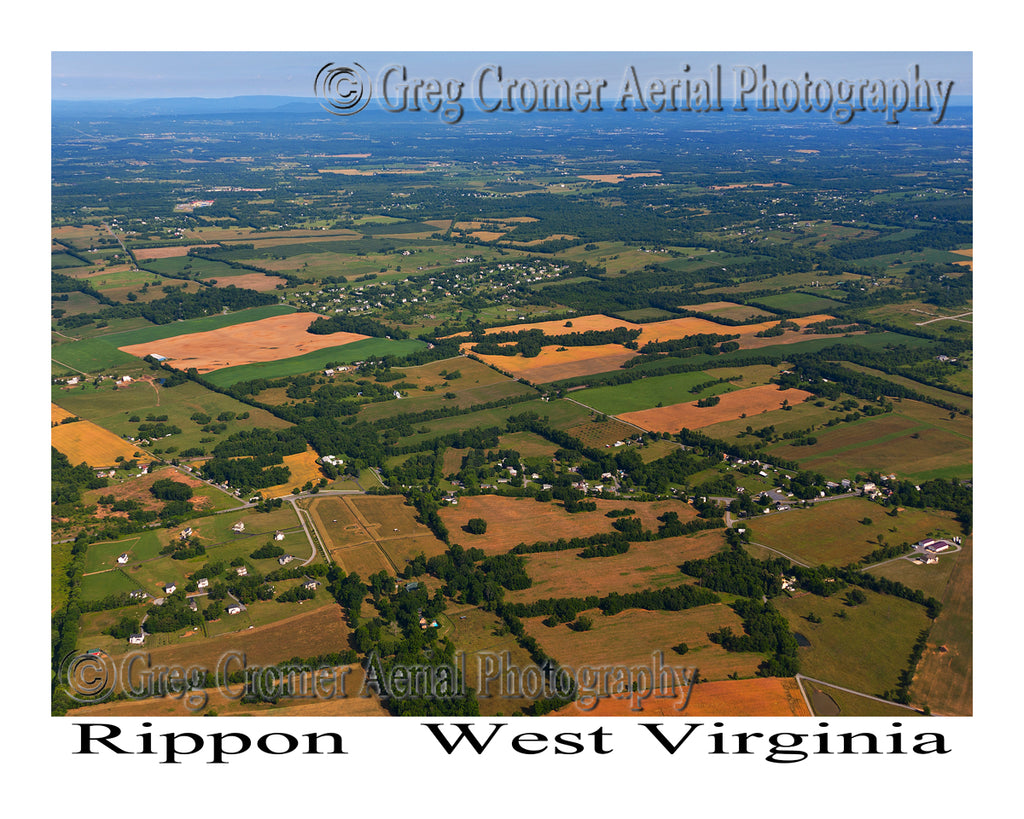 Aerial Photo of Rippon, West Virginia
