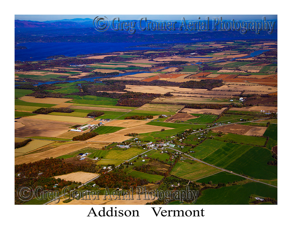 Aerial Photo of Addison, Vermont