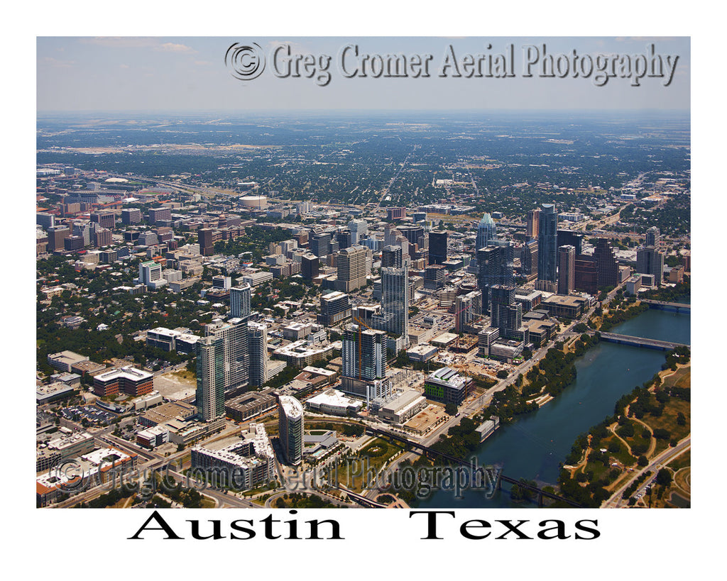 Aerial Photo of Austin, TX