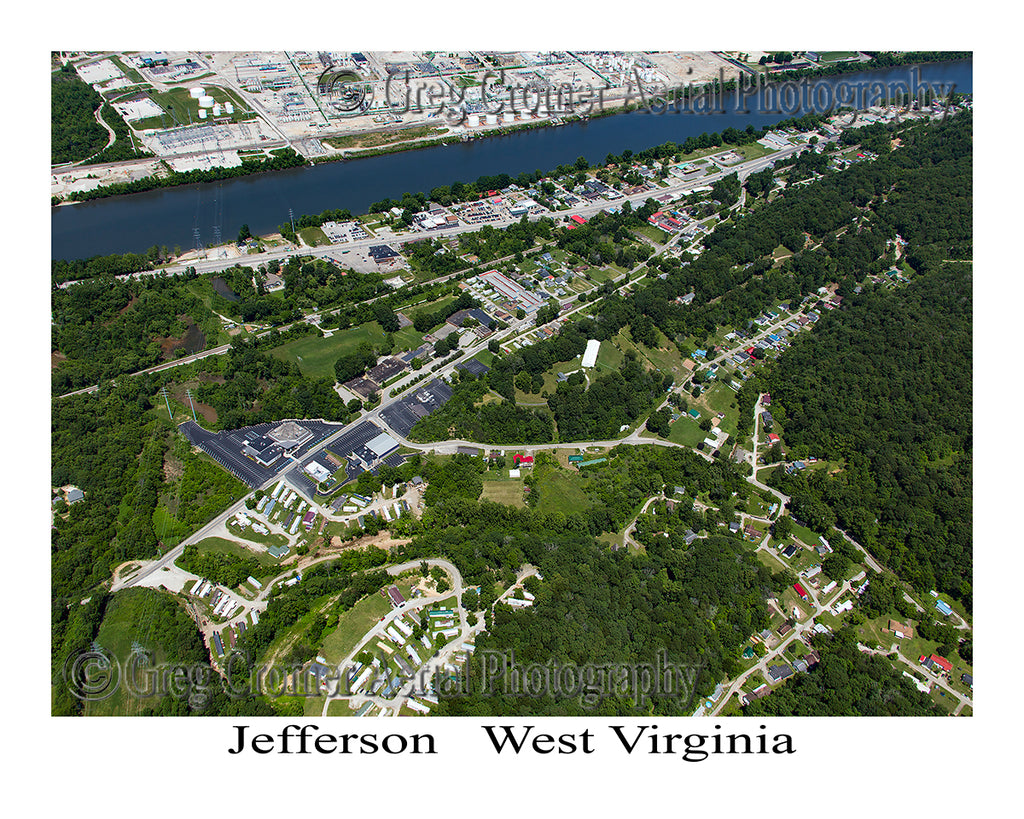 Aerial Photo of Jefferson, West Virginia