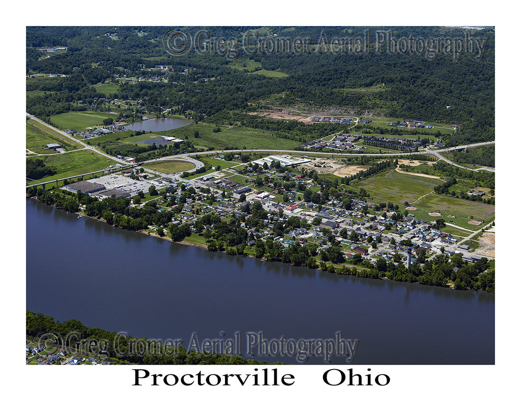 Aerial Photo of Proctorville, Ohio