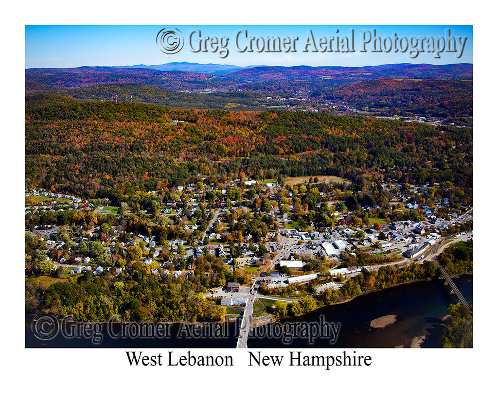 Aerial Photo of West Lebanon, New Hampshire