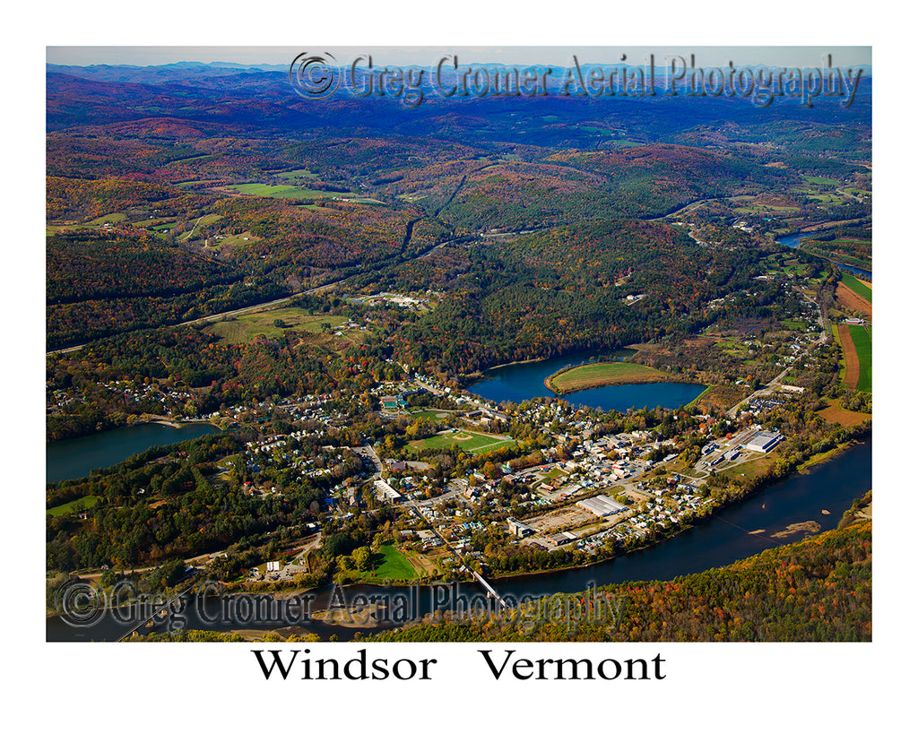 Aerial Photo of Windsor, Vermont