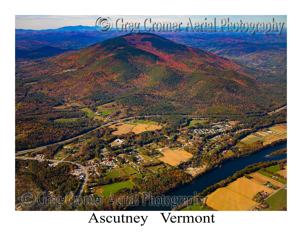 Aerial Photo of Ascutney, Vermont