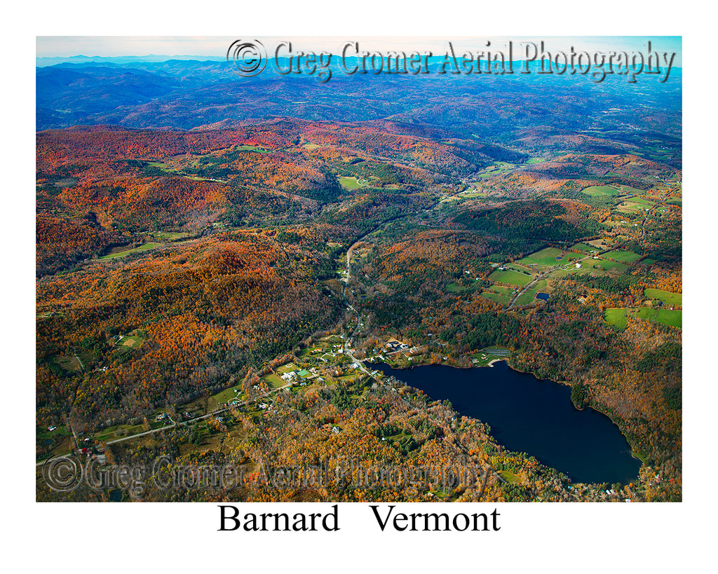 Aerial Photo of Barnard, Vermont