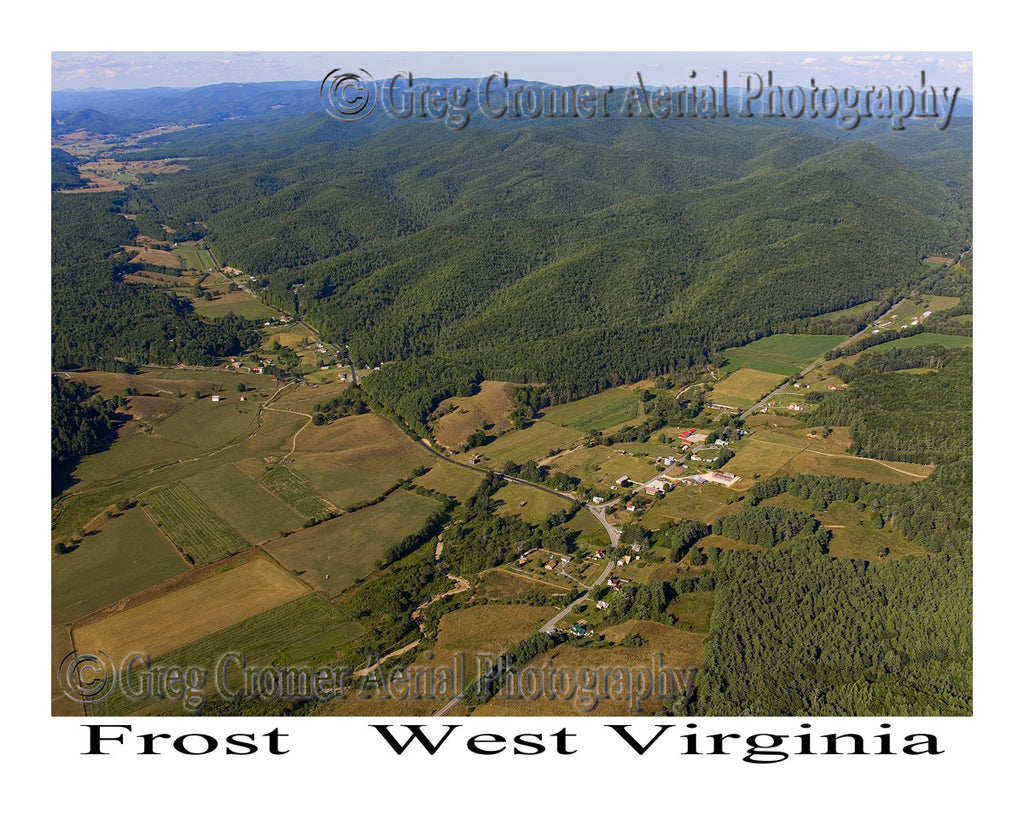 Aerial Photo of Frost, West Virginia