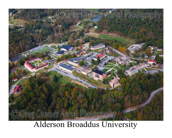 Aerial Photo of Alderson Broaddus University - Philippi, WV