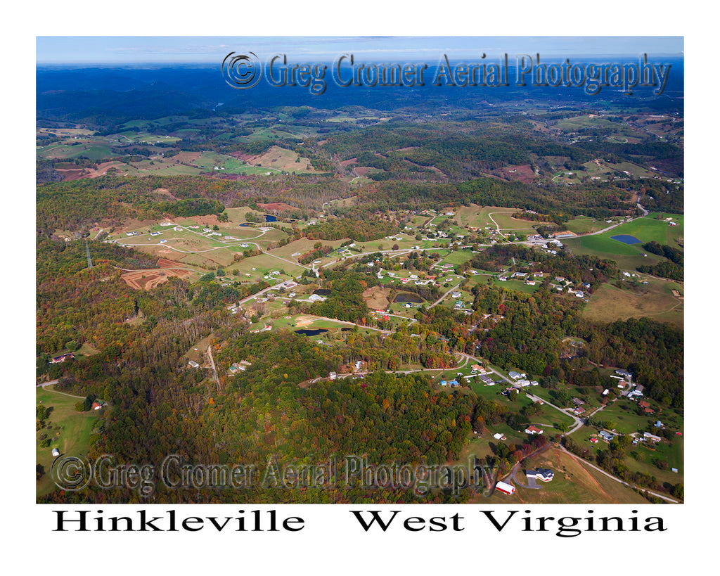 Aerial Photo of Hinkleville, West Virginia
