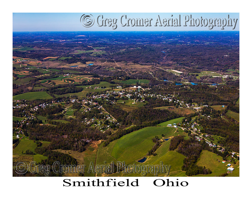 Aerial Photo of Smithfield, Ohio