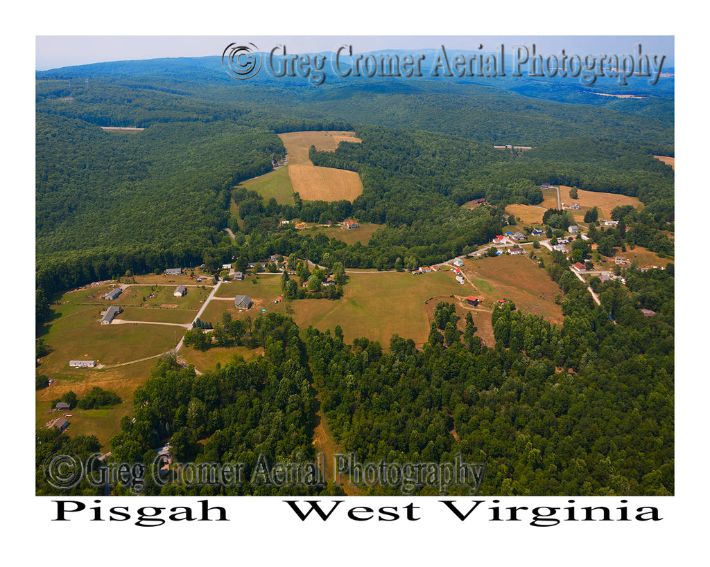 Aerial Photo of Pisgah, West Virginia