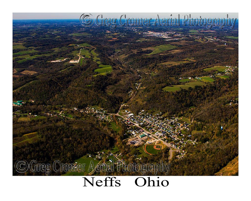 Aerial Photo of Neffs, Ohio