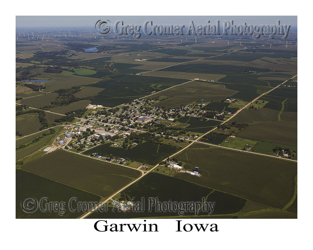 Aerial Photo of Garwin Iowa
