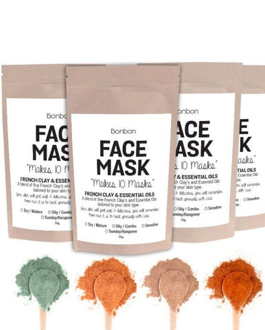 French Clay Face Masks