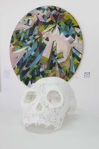 Lee Brogan Glass skull