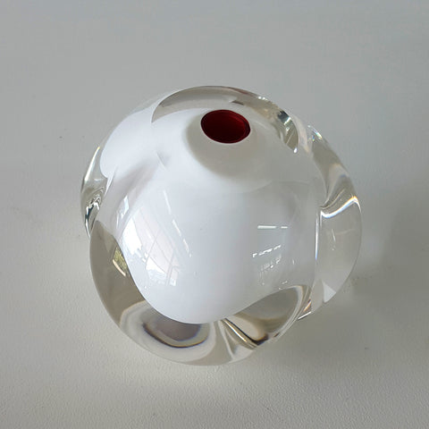 Chris Jones blown glass ornament