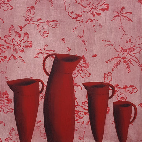 Rachael Garland red jugs