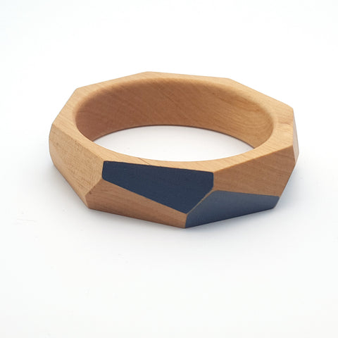 Faceted Medium Bangle