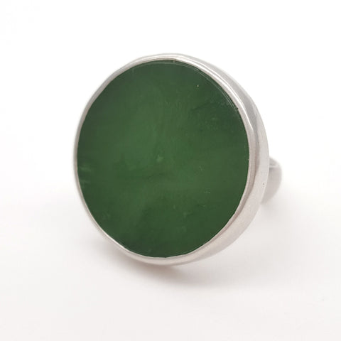 New zealand jade Pounamu ring