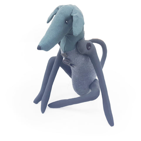 Sandra Grieve | Blue Grey Greyhound