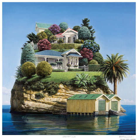 Waterfront villas Barry Ross Smith