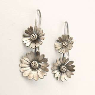 Sterling Silver Whimsical and nostalgic daisy chain jewellery.
