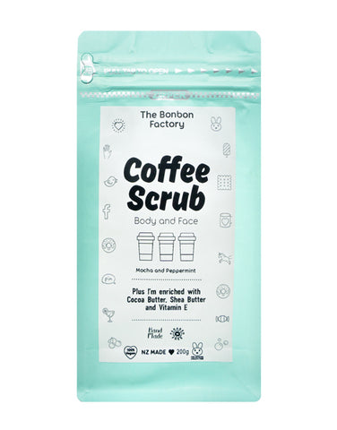 Coffee Scrub, Body & Face