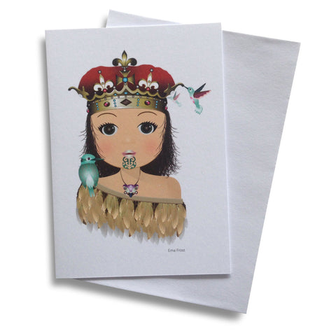 Ema Frost Greeting card