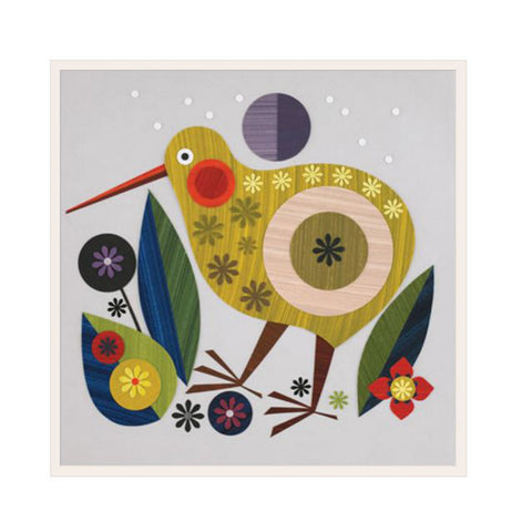 childs nursery art kiwi