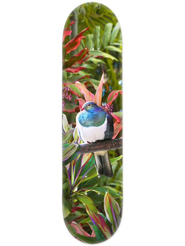 Lucy G Tropical NZ Kereru - Skate Deck