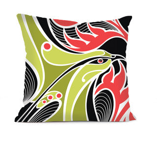 Shane Hansen Bellbird - Cushion Cover Shane Hansen Bellbird - Cushion Cover
