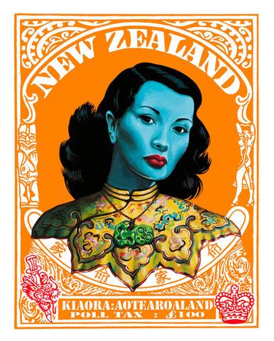 Lester Hall New Zealand Print Poll Tax