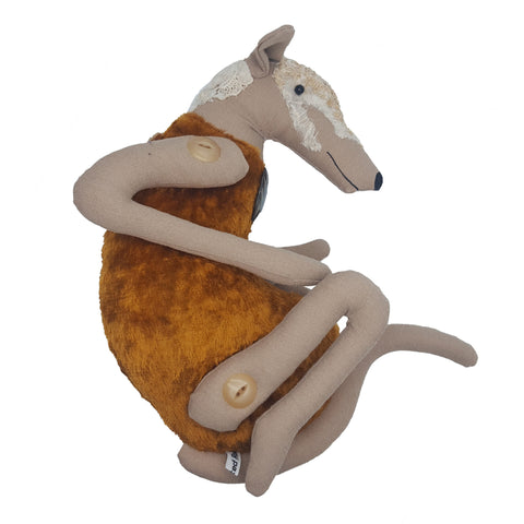 Sandra Grieve | Rusty Greyhound
