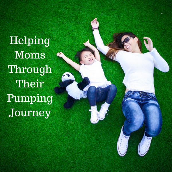 Helping Moms Through Their Pumping Journey