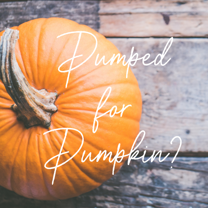 Are You Pumped for Pumpkin?