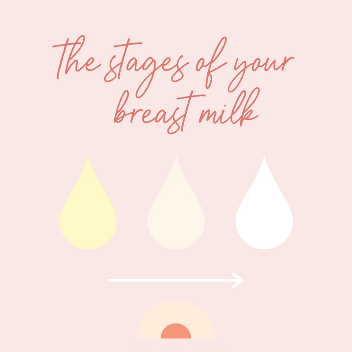 The Three Stages of Breast Milk and What You Need to Know