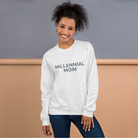 Beaugen Millennial Mom Sweatshirt