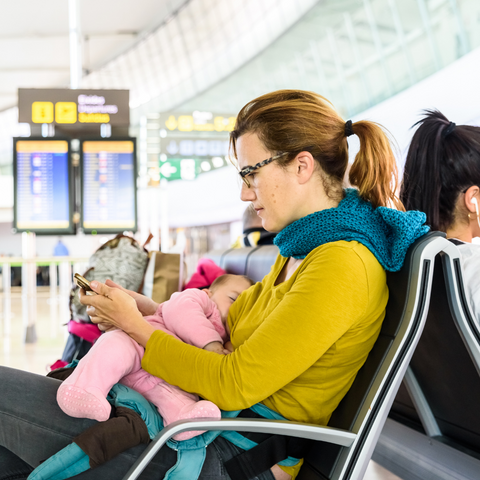 Tips for Traveling while pumping breast milk, and with families from BeauGen