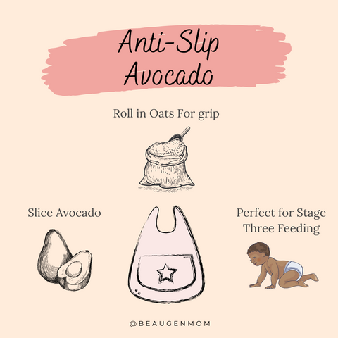 Anti Slip Avocado and Oats Recipe from BeauGen