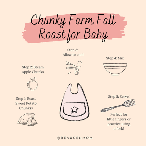Chunky Fall Baby Roast for Baby