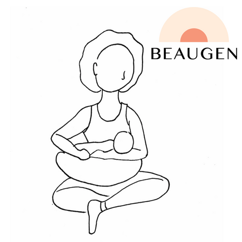 Cradle Breastfeeding Hold or Position from BeauGen