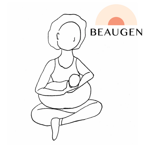 Cross Cradle Breastfeeding Hold or Position from BeauGen
